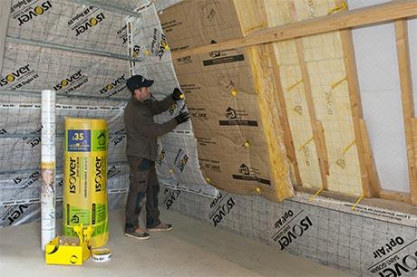 Isolation de combles et de toiture Martinet 85150